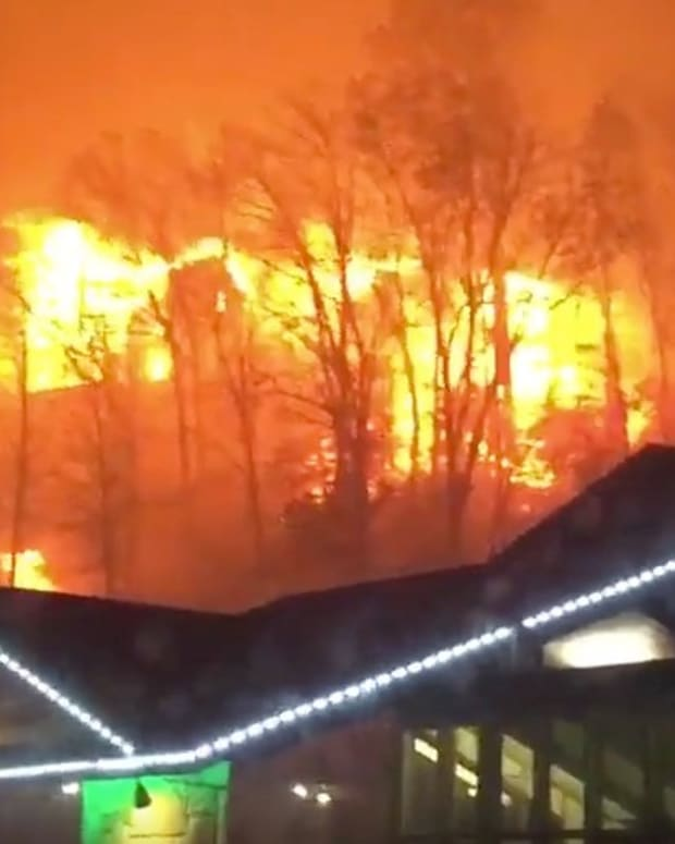 Fire Chief Asks People To Pray To Stop Tennessee Fires (Video) Promo Image