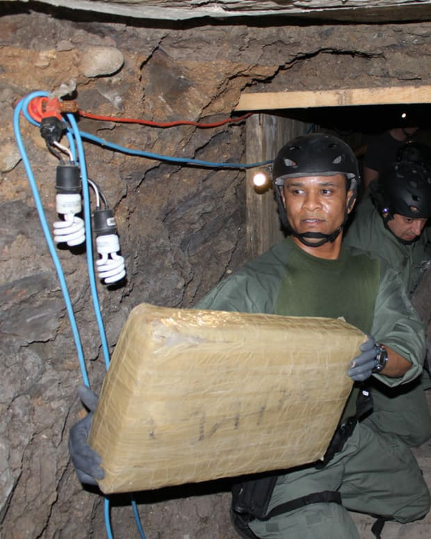 Police Find Tijuana-San Diego Drug Tunnel  Promo Image