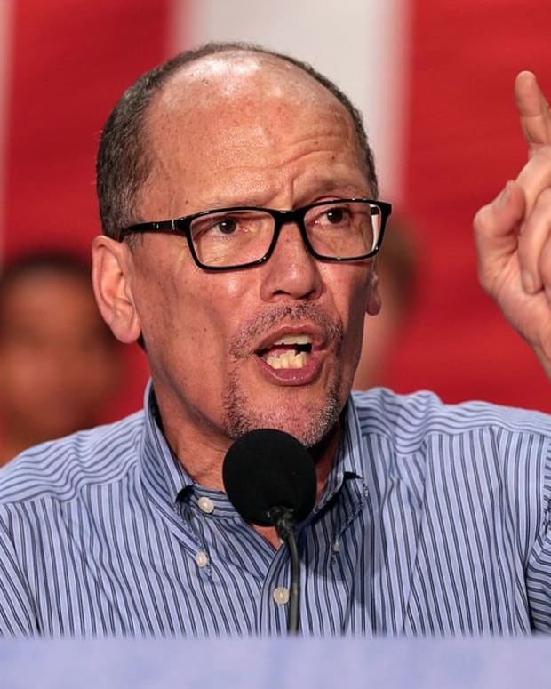 DNC Chairman Perez Criticizes Trump Tax Cuts Promo Image
