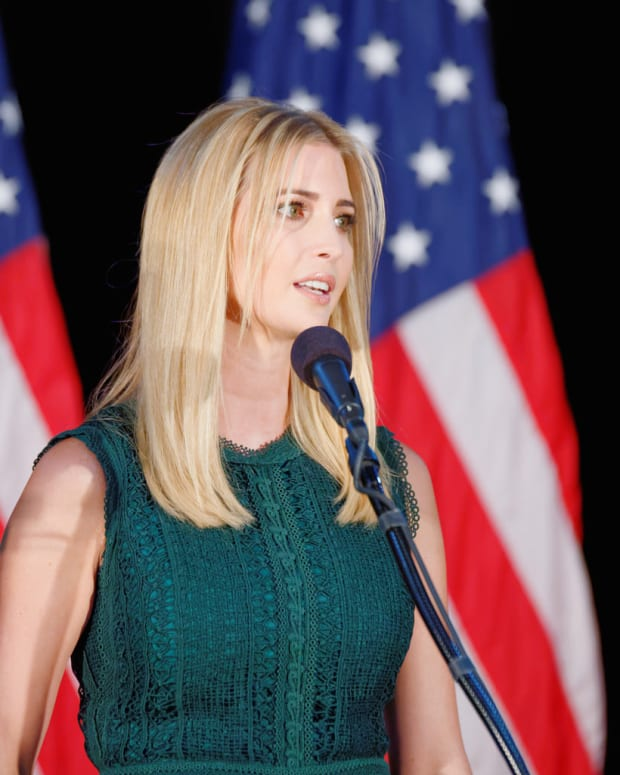 Ivanka Trump Goes Against Dad's 'Buy American' Message Promo Image