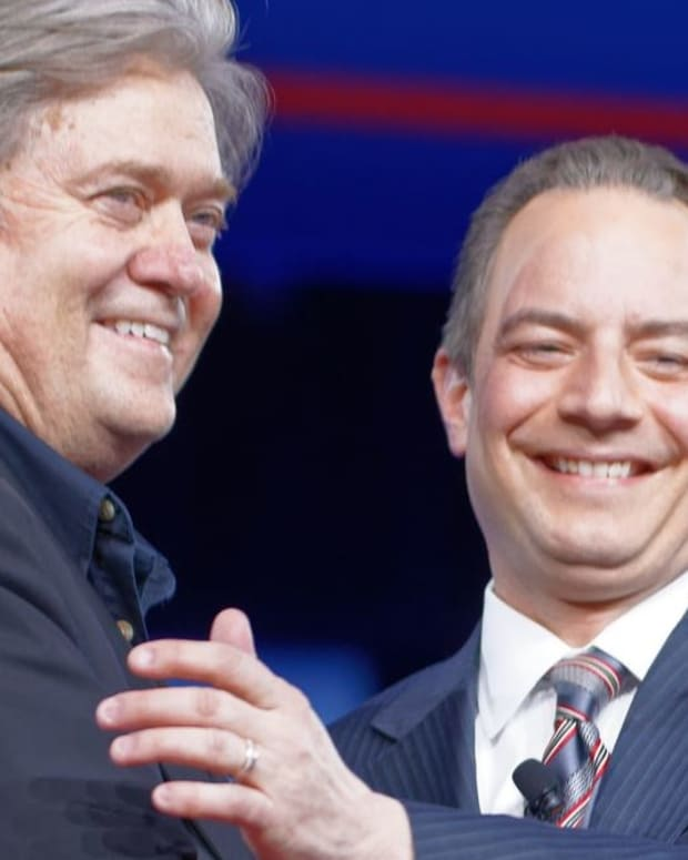 Report: Trump Might Fire Bannon, Priebus Promo Image