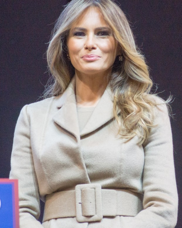 FLOTUS Melania Trump May Never Move Into White House Promo Image