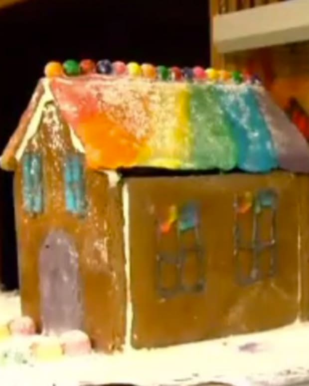 Teacher Accused Of Anti-Gay Attack On Gingerbread House (Video) Promo Image