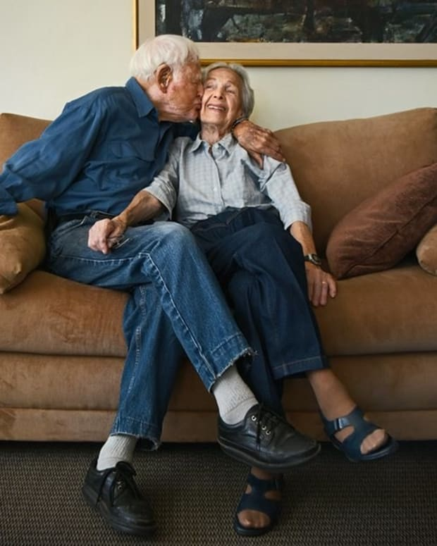100-Year-Old Couple Credits Luck For Long Marriage Promo Image