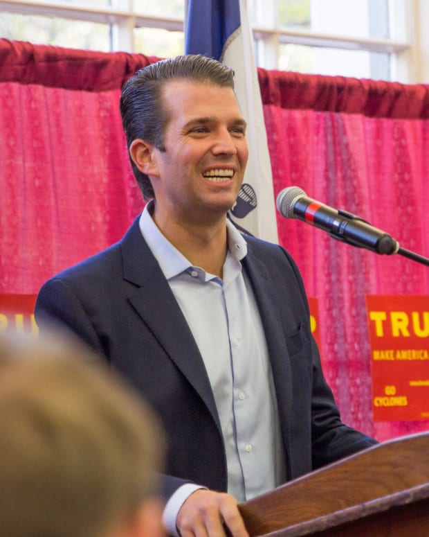 Trump Jr. Receives Avalanche Of Criticism For Comment  Promo Image