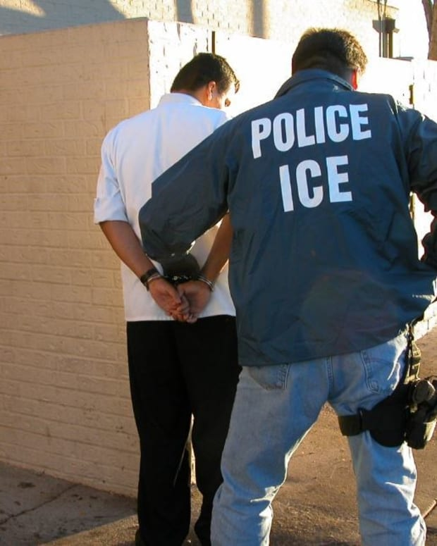 DHS: Most Immigrants Arrested By ICE Were Criminals Promo Image