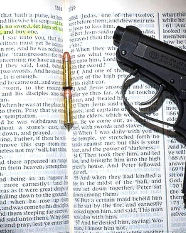 Armed Christian Credits Jesus For Fugitive Surrender (Video) Promo Image