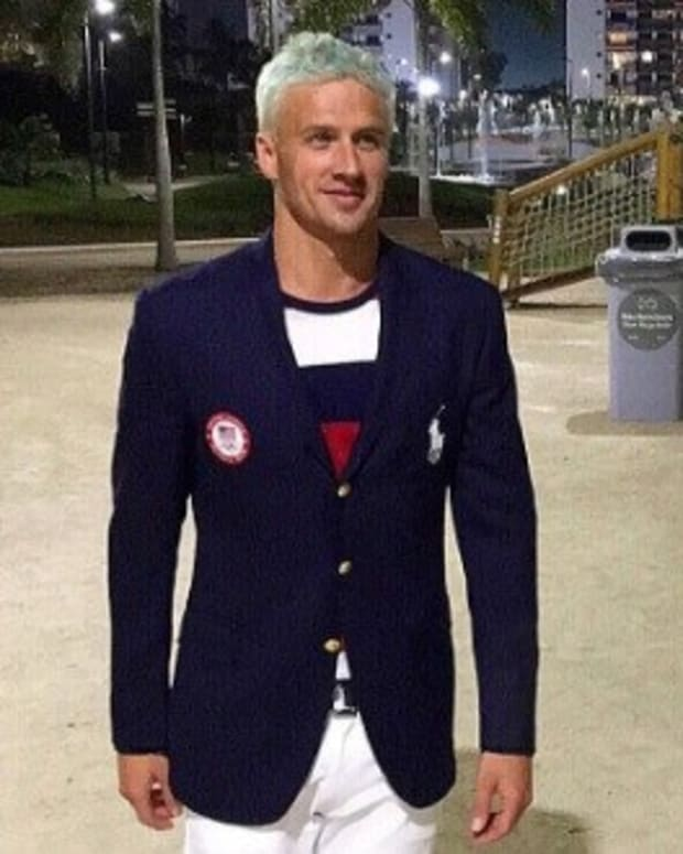 Claim: Lochte Group Urinated On, Vandalized Gas Station Promo Image