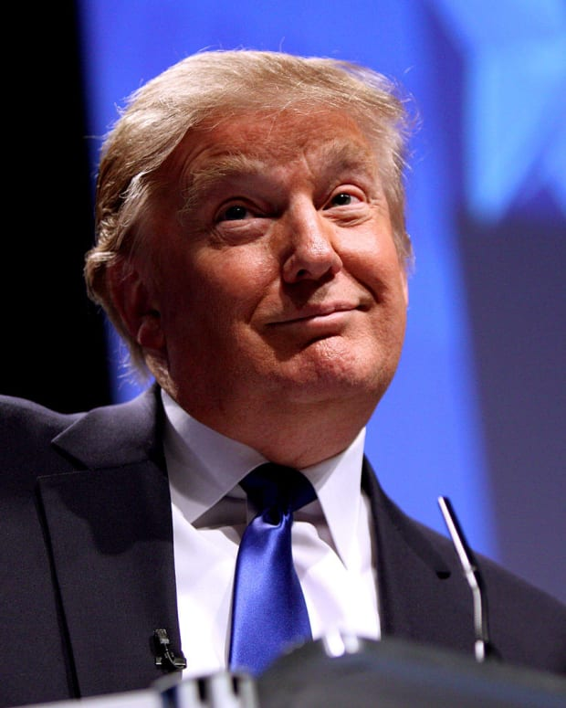 Donald Trump Reveals Fate Of His Business  Promo Image