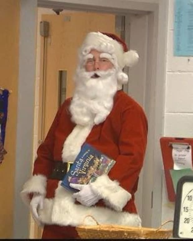 First Grader Shocked To Learn Santa's Identity (Video) Promo Image
