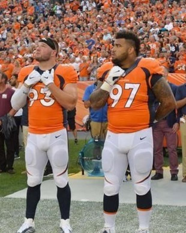 NFL Player Joins Kaepernick's National Anthem Protest, Loses Millions Promo Image