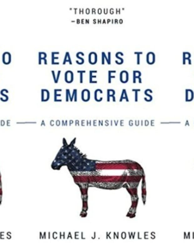 Blank 'Reason To Vote For Democrats' Book Tops Charts Promo Image