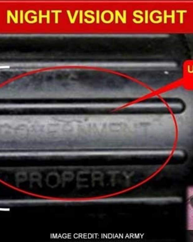 US Night Vision Device Found In Militant Camp (Photo) Promo Image