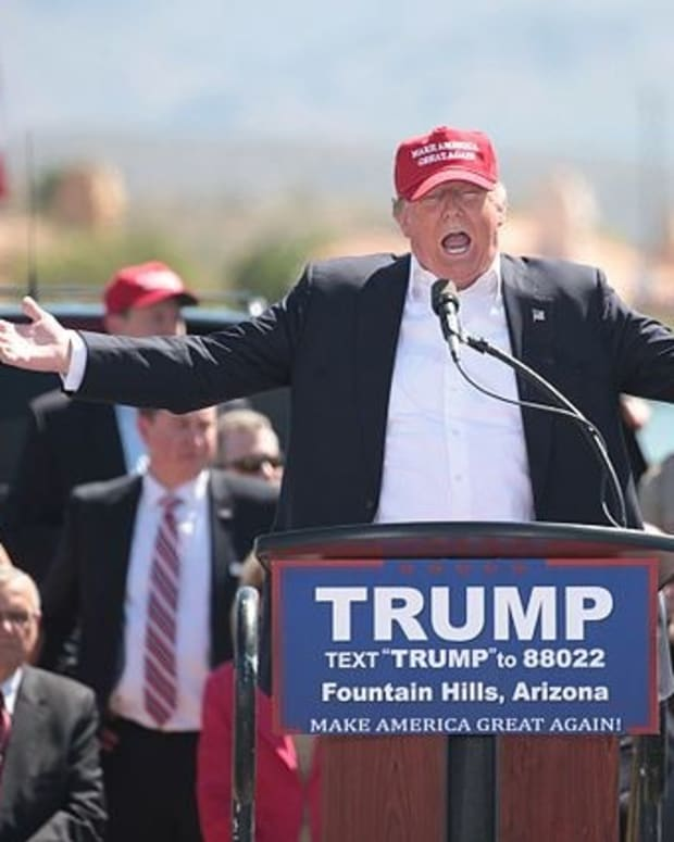 Trump Demands Biographer Leave Golf Course Promo Image