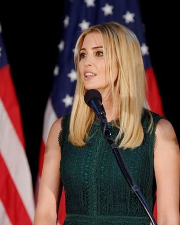 Ivanka Trump Booed During Event In Germany Promo Image