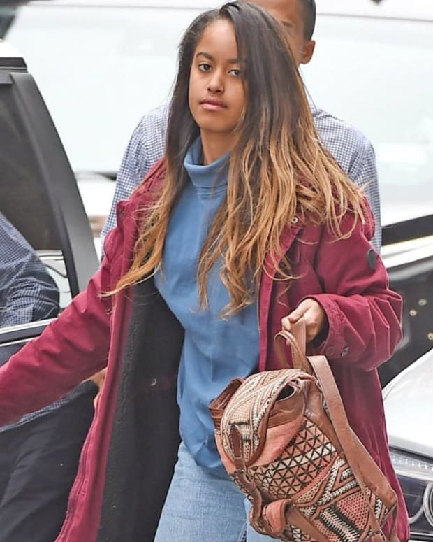 Malia Obama Socializes At 'Girls' Afterparty (Photo) Promo Image