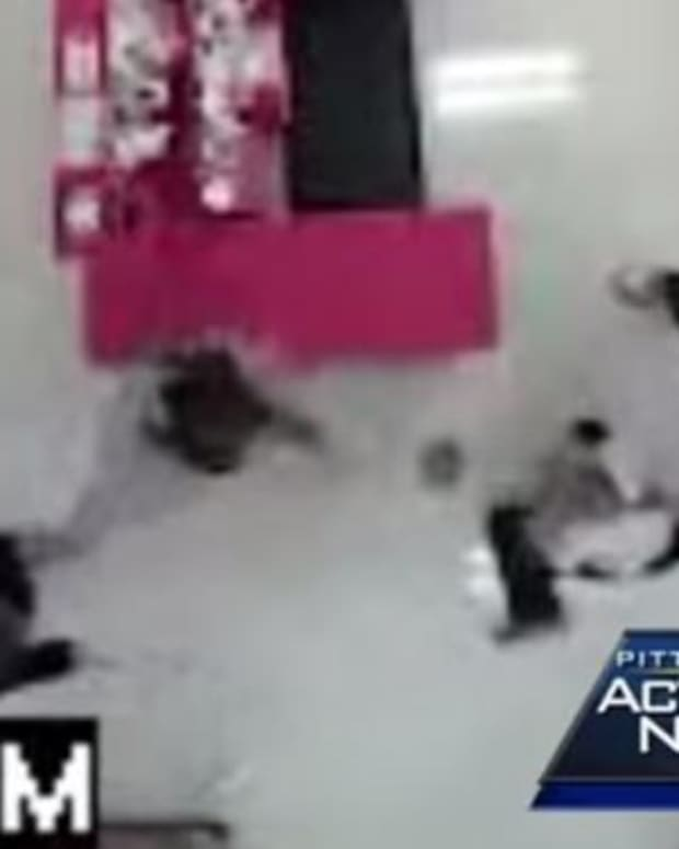 Men See Teen Girl Being Stabbed At Target, Take Action (Video) Promo Image