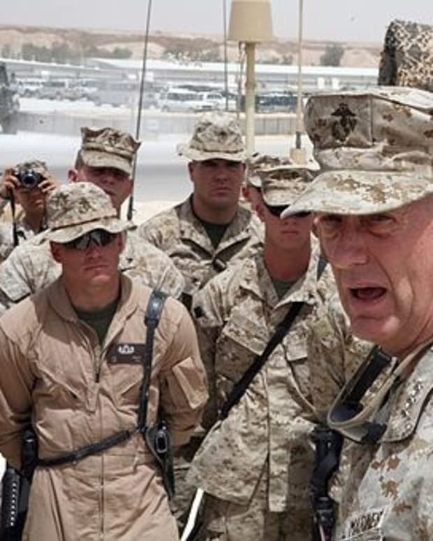 Trump: Mattis 'Closest Thing To Gen. George Patton' Promo Image