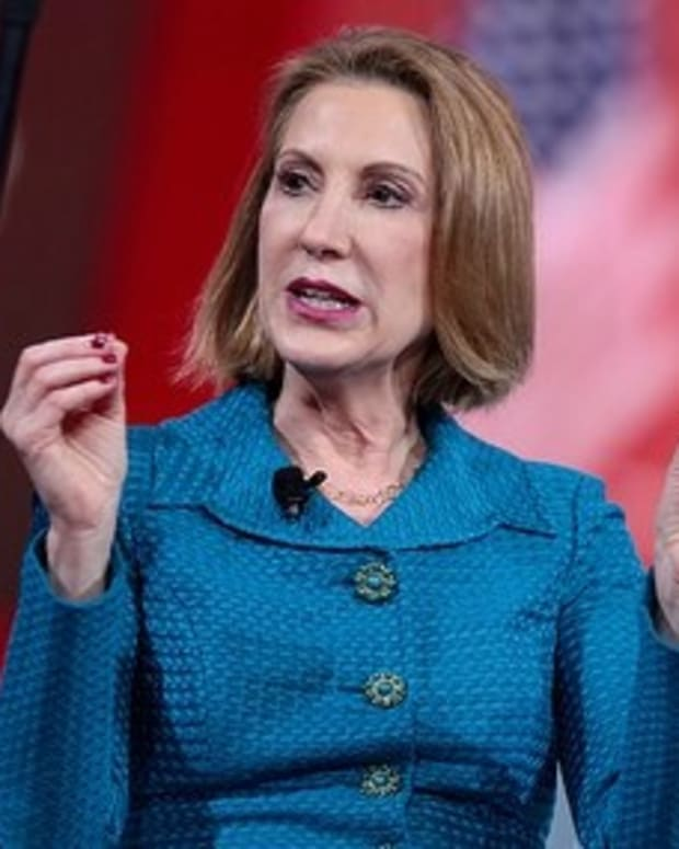 Trump Meets With Carly Fiorina For Administration Role Promo Image