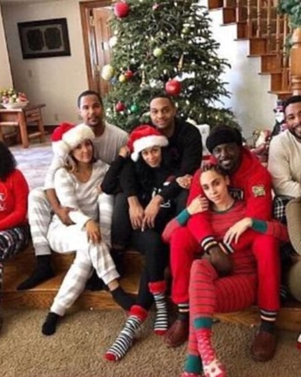 Lance Gross Christmas Photo Sparks Controversy (Photos) Promo Image