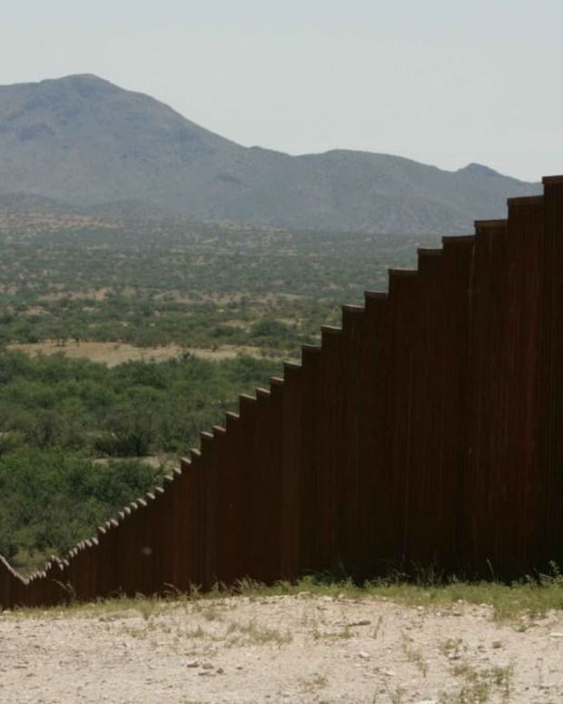 DHS Begins Search For Border Wall Design Bids Promo Image