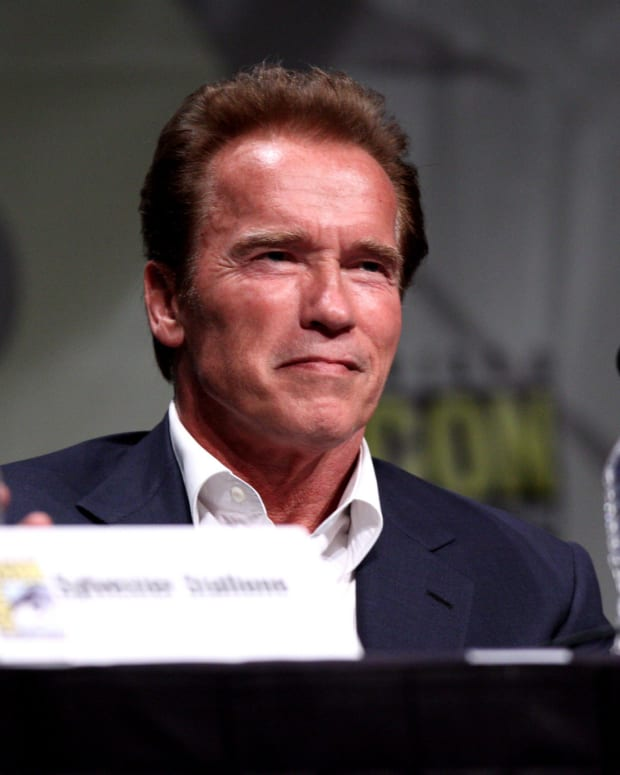 Arnold Schwarzenegger's Shirt Sends Message Day After Remarks Against Trump (Photo) Promo Image