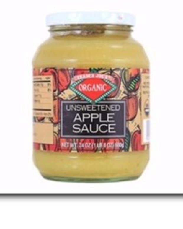 Trader Joe's Recalls Applesauce For Possible Glass Shards Promo Image