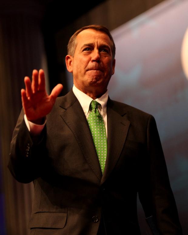 John Boehner Says Trump Has Been 'A Disaster' Promo Image