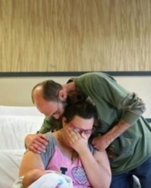Woman Who Just Delivered Baby Given Awful News About Mom, Husband Promo Image