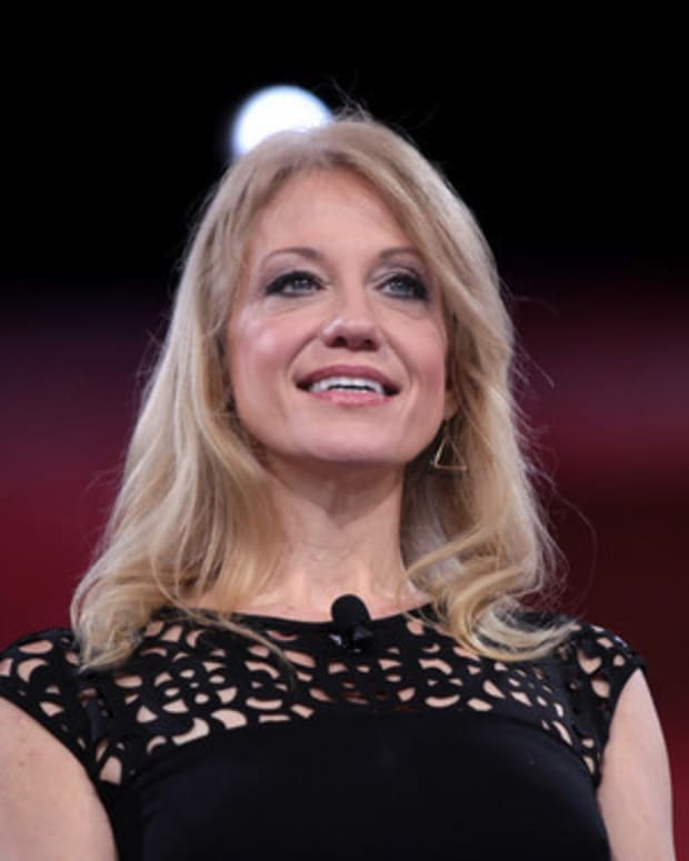 Girl Asks Kellyanne Conway: How Could You Work For A Sexual Predator? She Has Perfect Reply Promo Image