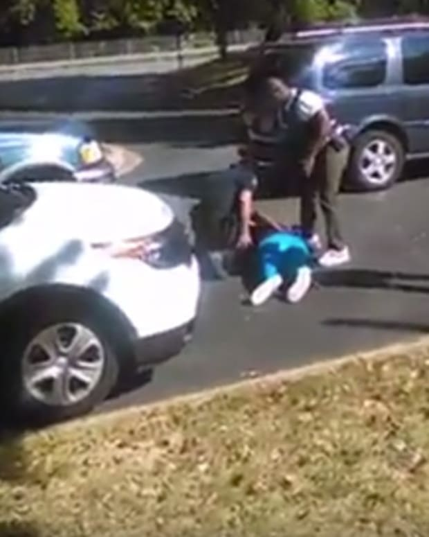 Keith Scott's Wife Filmed Police Shooting (Video) Promo Image