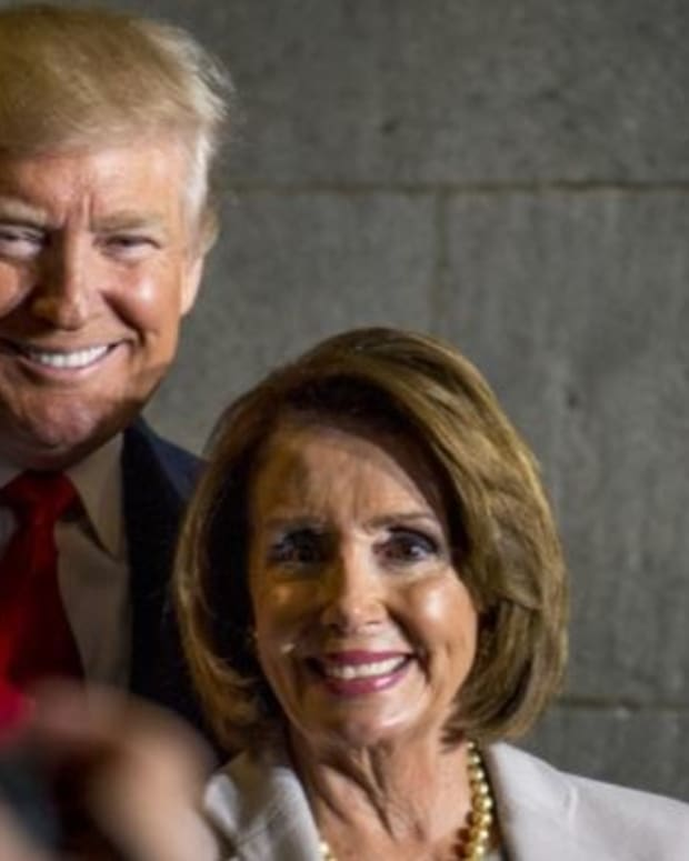 Pelosi Calls On Democrats To Restrain Impeachment Push Promo Image