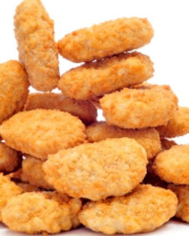 OK Food Recalls Nearly 500 Tons Of Breaded Chicken Promo Image