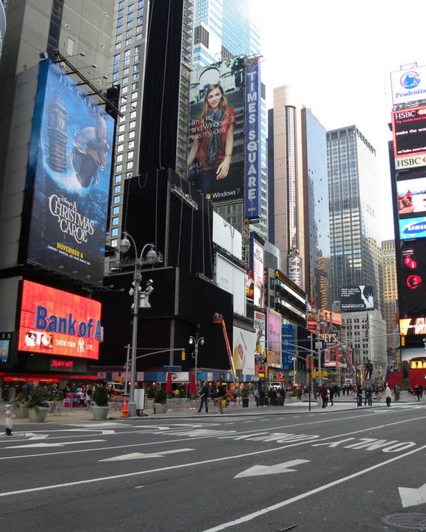 Student In Critical Condition After Times Square Crash Promo Image