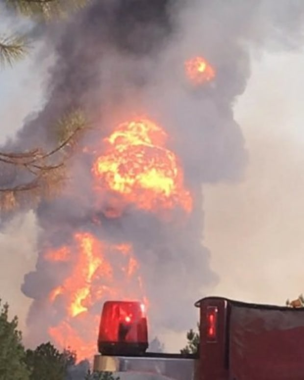 Massive Pipeline Explosion In Alabama Promo Image