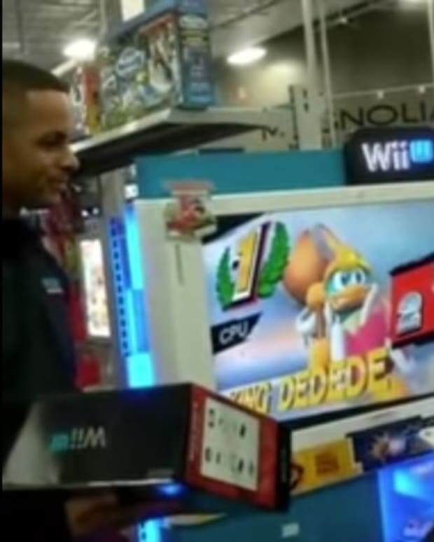 Teen Frequents Best Buy Demo WiiU, Staff Buy Him One (Video) Promo Image