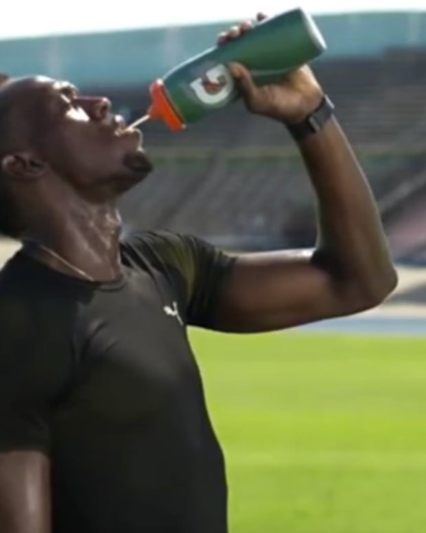 Olympians Selling Sugary Sports Drinks (Video) Promo Image