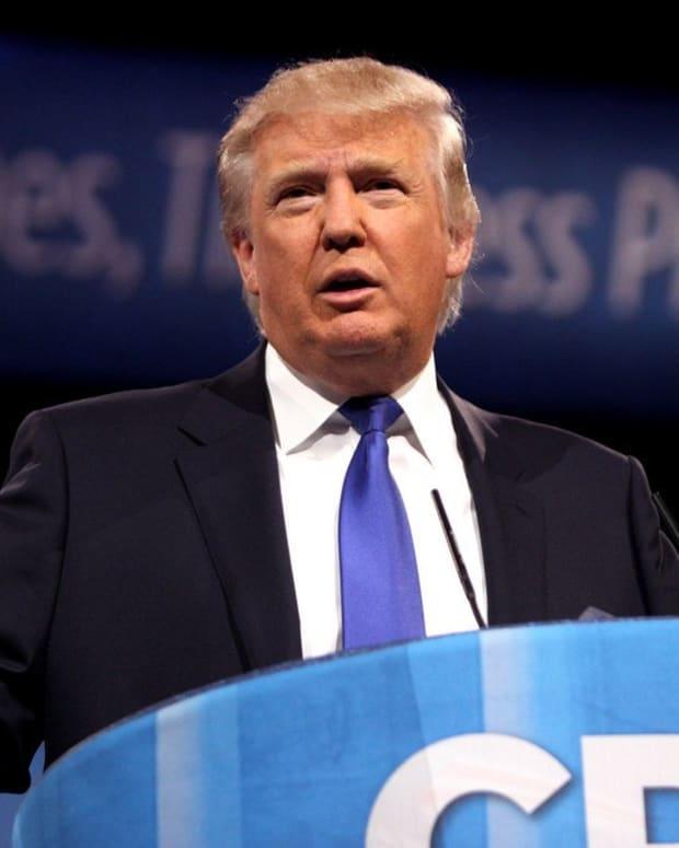 Trump Retweets Video From Anti-Semitic Account (Photo) Promo Image
