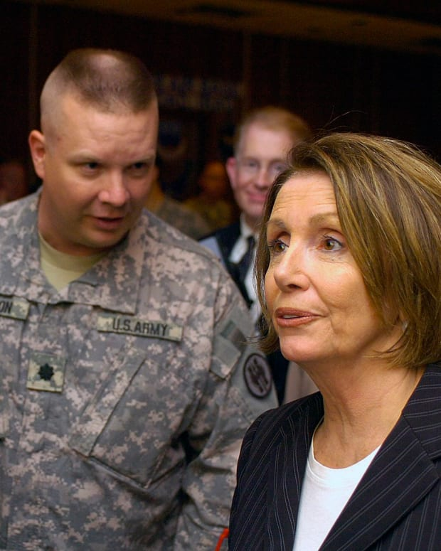 Nancy Pelosi's Expressions Go Viral (Video) Promo Image
