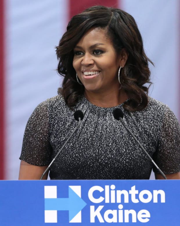 Michelle Obama Is Frontrunner For 2020 Election Promo Image