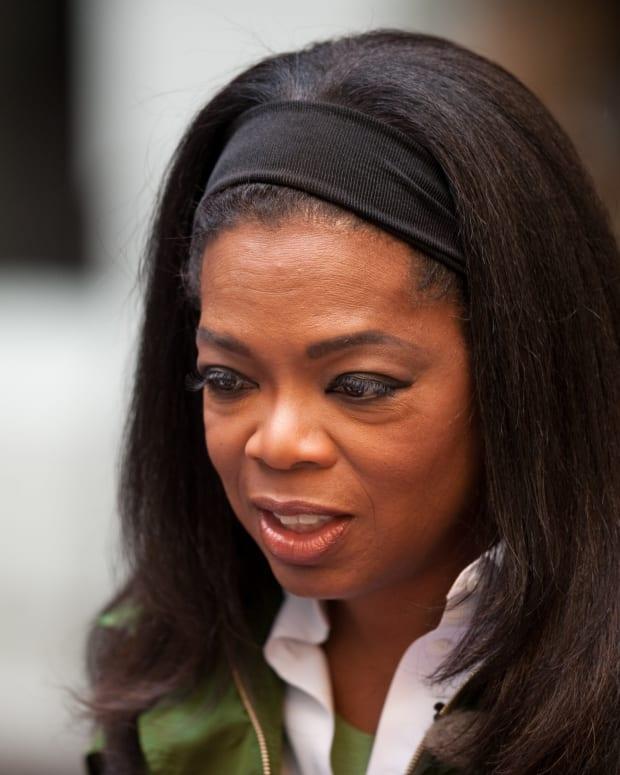 Social Media Erupts After Oprah's Golden Globes Speech (Video) Promo Image