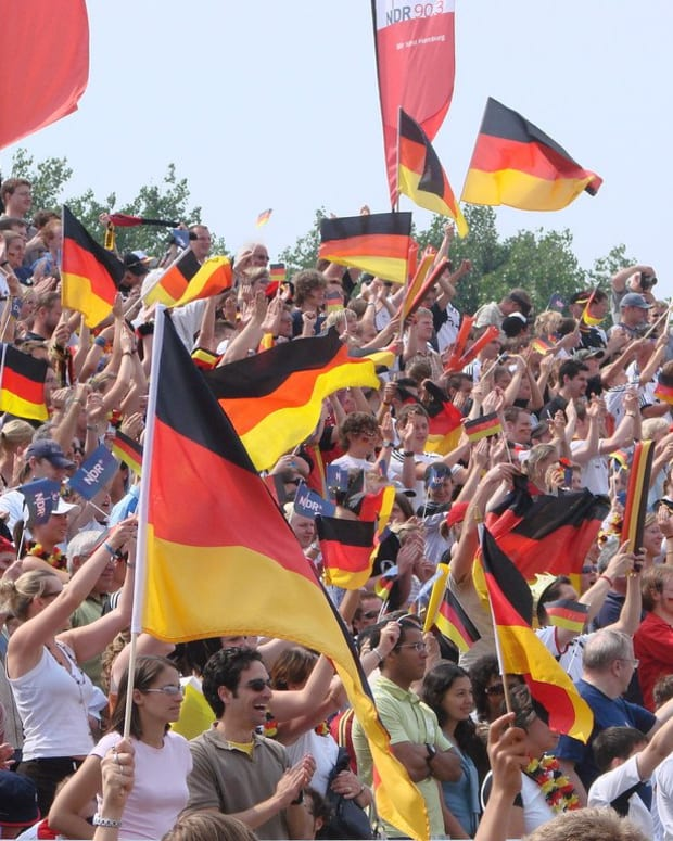 FIFA Fines Germany After Soccer Fans Chant Nazi Slogans Promo Image