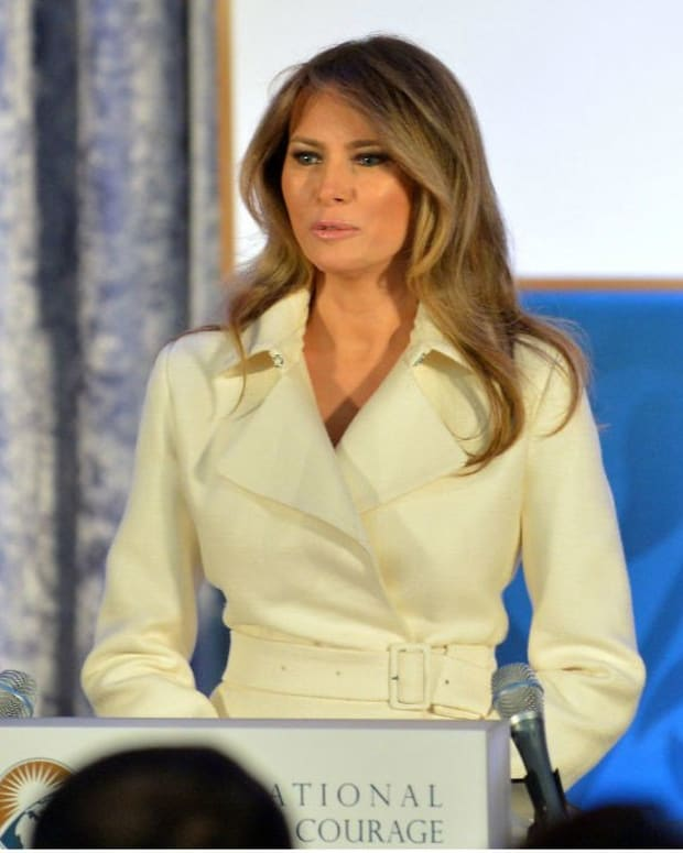 Dress Melania Trump Wore Is Sold Out (Photo) Promo Image