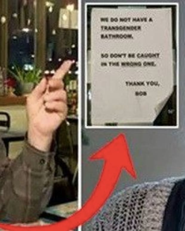 Angry Critics Demand Restaurant Owner Remove 'Offensive' Sign, He Has Just 7 Words Promo Image