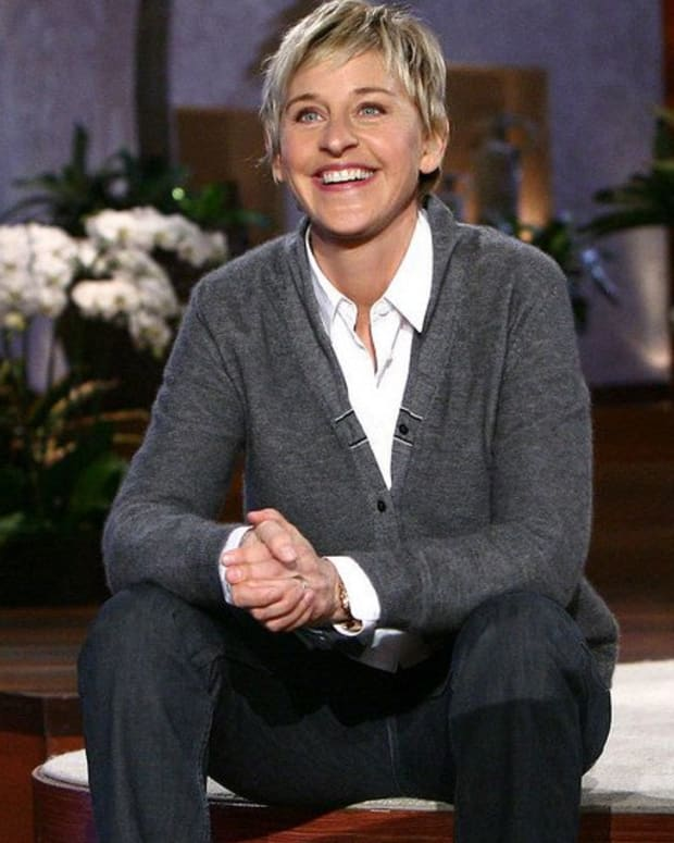 Ellen DeGeneres Talks About Her Father's Death (Video) Promo Image