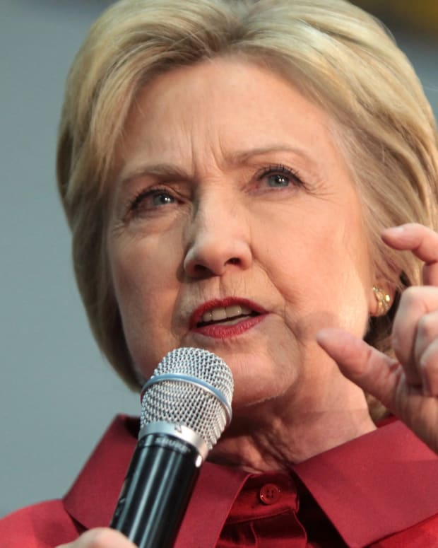 Hillary Clinton Called 'Fascist' And Booed By Some In Crowd (Video) Promo Image