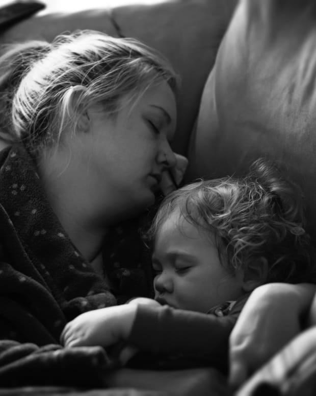 Tired Mom Shamed On Facebook Claps Back (Photo) Promo Image