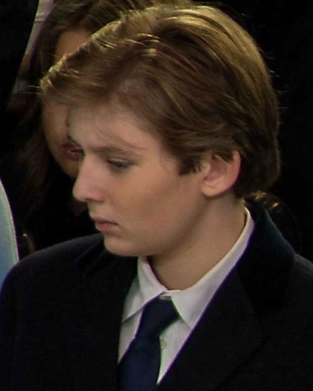 Barron Trump's Shark Shirt Goes Viral (Photos) Promo Image