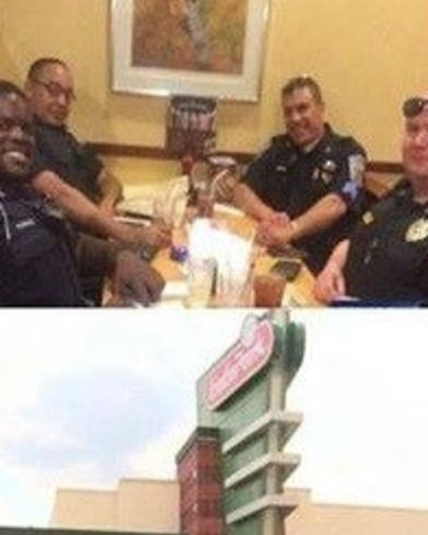 Couple Refuses To Be Seated Anywhere Near Cops, Cops Respond Accordingly (Photo) Promo Image