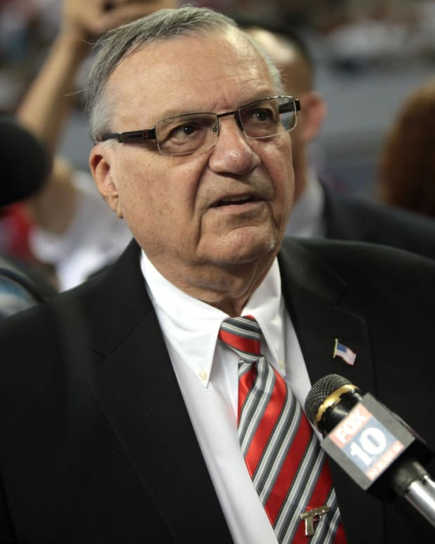 Report: Joe Arpaio May Run For Senate Promo Image